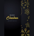 marry christmas and happy new year poster and vector image