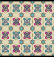 ornate pattern with mandala elements vector image vector image