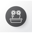 peony icon symbol premium quality isolated floral vector image vector image