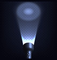 stock flashlight spot isolated vector image