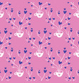 valentines hand drawn seamless pattern-07 vector image vector image