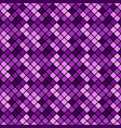 abstract dark violet geometrical square pattern vector image vector image