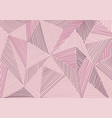 abstract low polygon patchwork with hand drawn vector image