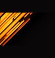 abstract yellow orange geometric cyber circuit vector image vector image