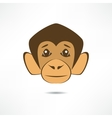 Attentive monkey vector image
