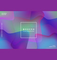 gradient background modern with colorful style vector image vector image