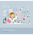 Medical Laboratory Conceptual vector image