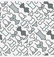 underwear clothes seamless pattern vector image