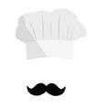 Cook hat vector image