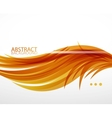 abstract feather waves background vector image vector image