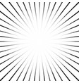 black and white striped with shine vector image