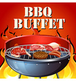 Buffet vector image vector image
