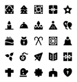 Christmas Icons 8 vector image vector image