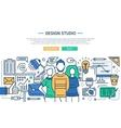 design studio - line website banner