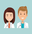 healthcare professionals design vector image
