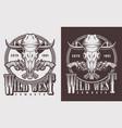 monochrome vintage emblems vector image vector image
