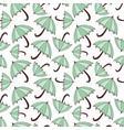 pattern with umbrellas seasonal seamless vector image vector image