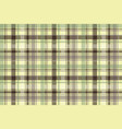 plaid tartan seamless pattern check fabric texture vector image vector image