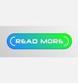 read more button vector image vector image