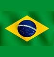 flag of brazil - vector image