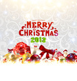 2013 Christmas Banner vector image vector image