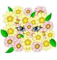 beauty cartoon vector image vector image