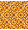 celtic seamless pattern - engraved golden rings vector image vector image