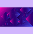 colorful geometric background dynamic shapes vector image vector image