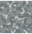 Digital camouflage seamless patterns vector image vector image