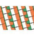 grunge ireland flag or banner vector image vector image