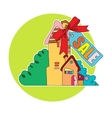 sale of real estate vector image