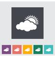 overcast vector image