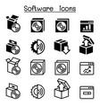 setup configuration maintenance installation vector image