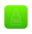 barbecue sause icon green vector image vector image