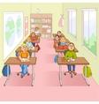 Children In School Cartoon