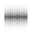 halftone sound wave pattern screen equalizer vector image vector image
