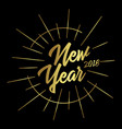 happy new year and merry christmas 2018 9 vector image vector image