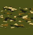 military green camouflage pattern texture vector image vector image