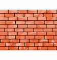 Polygon brick orange vector image vector image