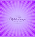 purple abstract background with rays vector image vector image