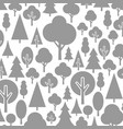 trees a background2 vector image vector image