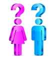 Understand Men and Women Concept vector image vector image