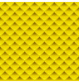 Gold Square Plate Seamless Pattern vector image