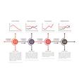 Business Timeline Design vector image vector image