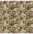 camouflage net scrim seamless pattern vector image