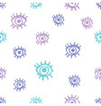 cute eyes seamless pattern vector image