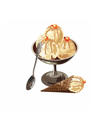 Delicious Ice Cream in a bowl dessert vector image vector image