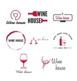 Set of badges labels logo and logotype elements vector image vector image