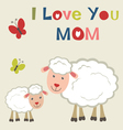 Sheep and lamb vector | Price: 1 Credit (USD $1)