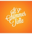 summer holiday vintage lettering background vector image